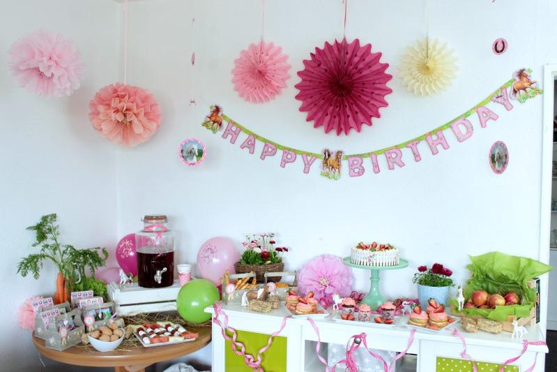 Pferde-Geburtstagsparty