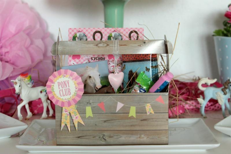 Pferde-Geburtstagsparty - Tolle Ideen für einen gelungenen Kindergeburtstag - Teil 1 - DIY, Deko, Gastgeschenke 25