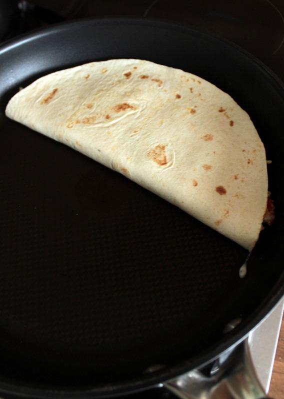 Rührei- Spinat Quesadillas für ein schnelles Frühstück 23