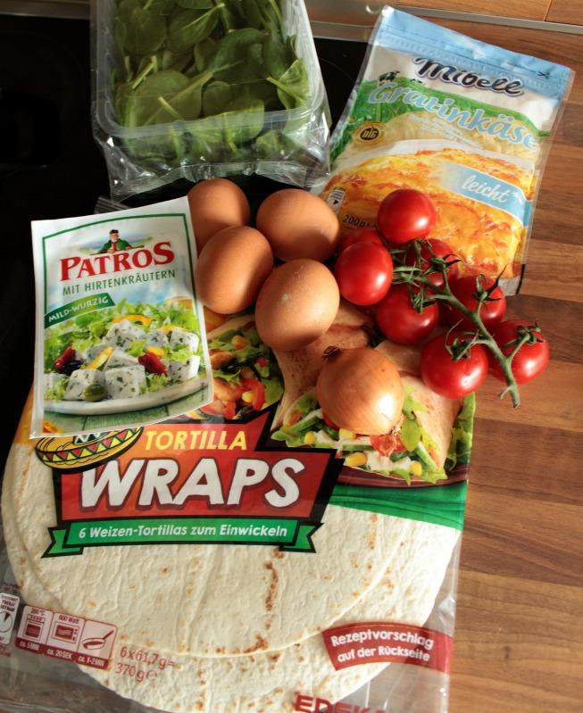 Rührei- Spinat Quesadillas für ein schnelles Frühstück 20