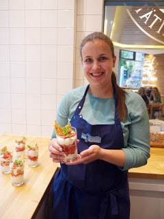 Erdbeer-Basilikum Scones für den 3. Blog-Stammtisch im Kölln Haferland* 69