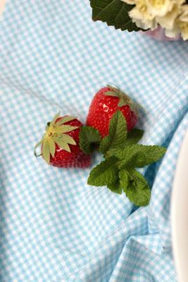 Erdbeer-Minz-Torte mit Müsliboden , ganz ohne backen* 9