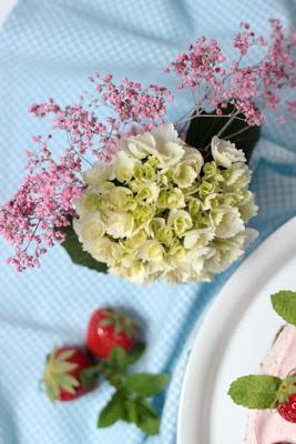 Erdbeer-Minz-Torte mit Müsliboden , ganz ohne backen* 2