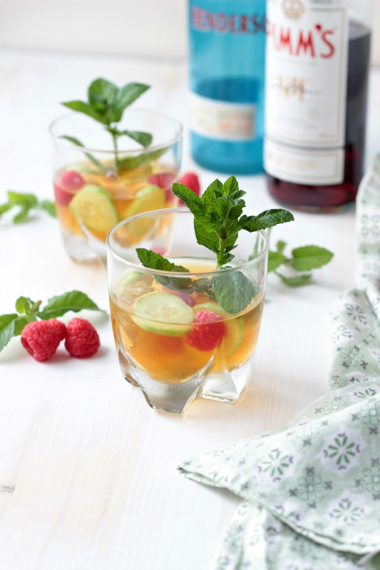 Gin - Pimm`s Cup - Cocktail of the Week 8