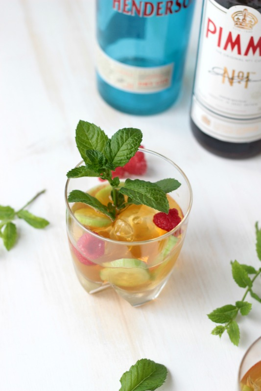 Gin - Pimm`s Cup - Cocktail of the Week 5
