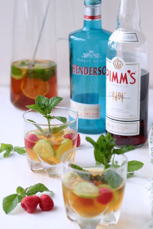 Gin - Pimm`s Cup - Cocktail of the Week 1