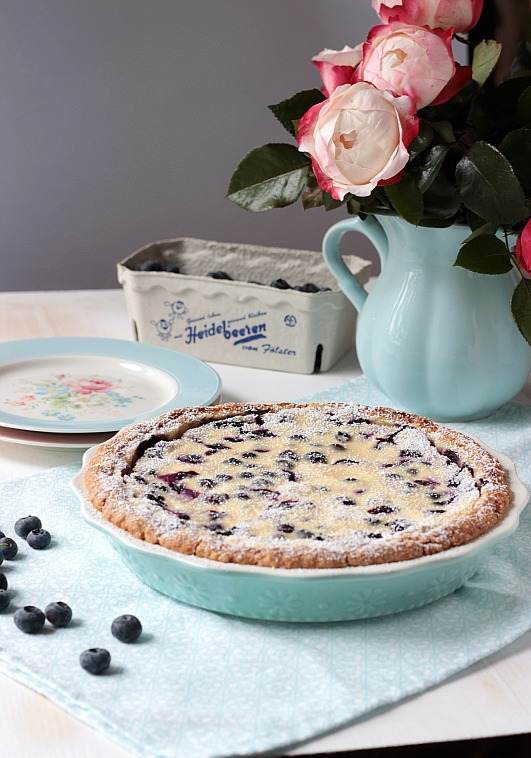 Blaubeer Cream Pie 1