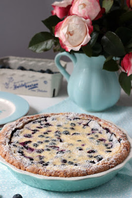 Blaubeer Cream Pie 4