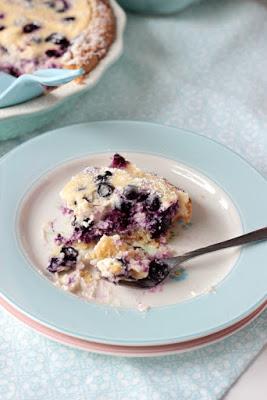 Blaubeer Cream Pie 7
