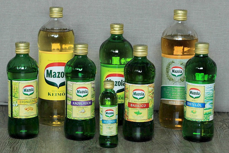 Leckere,gesunde Rezepte mit hochwertigem Mazola Öl * inkl. Avocado Dressing und Olivenöl Butter 16