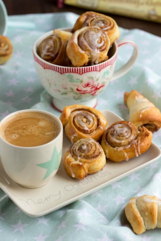 Schnelle Zimtschnecken mit Kardamom und  ein kreatives Bloggertreffen mit Tante Fanny 75