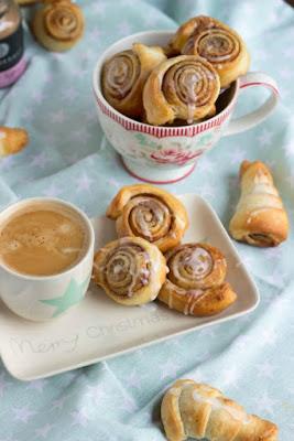 Schnelle Zimtschnecken mit Kardamom und  ein kreatives Bloggertreffen mit Tante Fanny 56