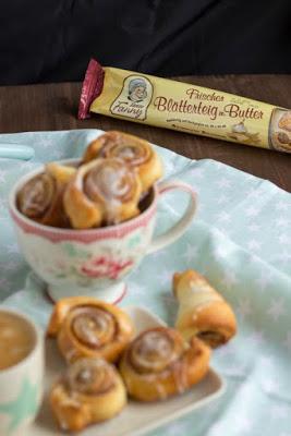 Schnelle Zimtschnecken mit Kardamom und  ein kreatives Bloggertreffen mit Tante Fanny 79