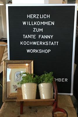 Schnelle Zimtschnecken mit Kardamom und  ein kreatives Bloggertreffen mit Tante Fanny 58