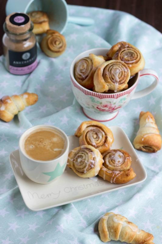 Schnelle Zimtschnecken mit Kardamom und  ein kreatives Bloggertreffen mit Tante Fanny 78