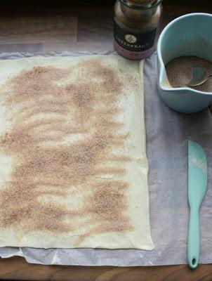 Schnelle Zimtschnecken mit Kardamom und  ein kreatives Bloggertreffen mit Tante Fanny 76