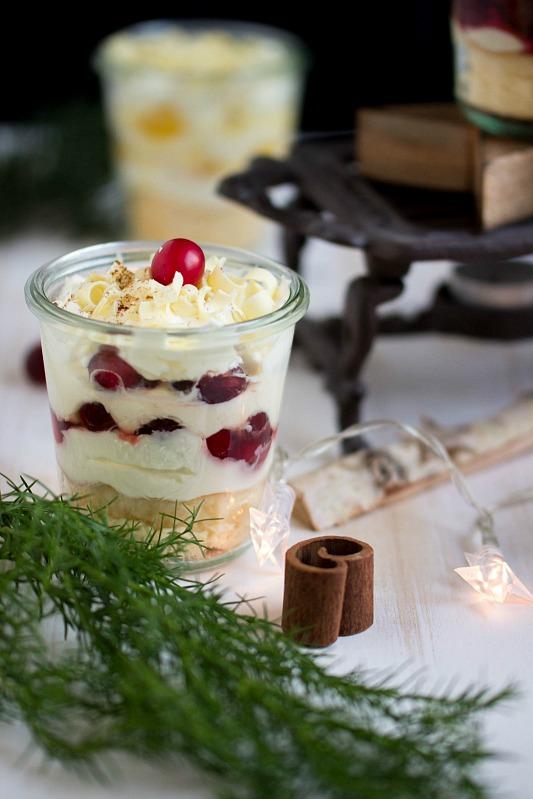 Adventskalendertürchen Nr.5 / 3 weihnachtliche Dessertvariationen im Glas + Gewinnspiel 56