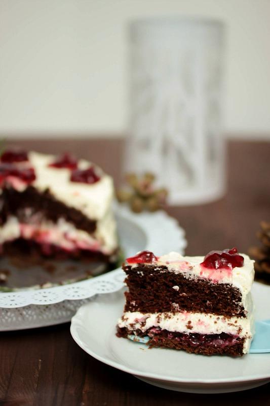 Schokoladen-Glühweintorte