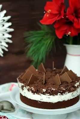 Weihnachtliche Orangen-Spekulatius Torte 8