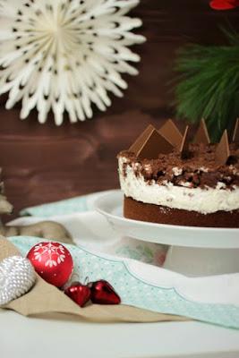 Weihnachtliche Orangen-Spekulatius Torte 5