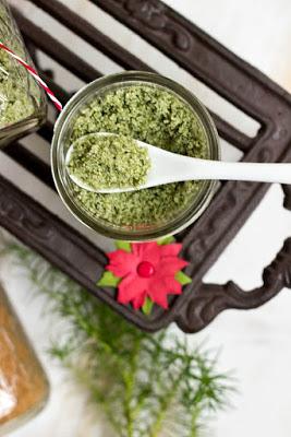 Basilikumsalz und Glühweinzucker - Geschenke aus der Küche + Freebie 3