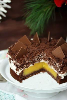 Weihnachtliche Orangen-Spekulatius Torte 9