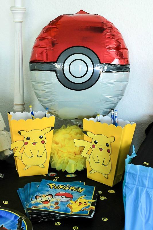 Pokemon Mottoparty - wir feiern den 13. Geburtstag vom Mittleren 21