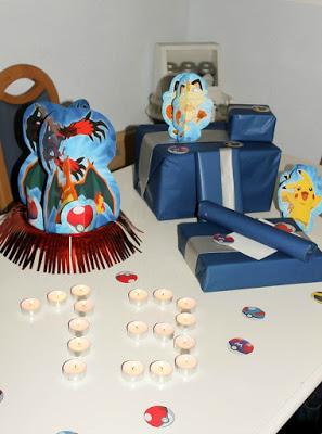 Pokemon Mottoparty - wir feiern den 13. Geburtstag vom Mittleren 3