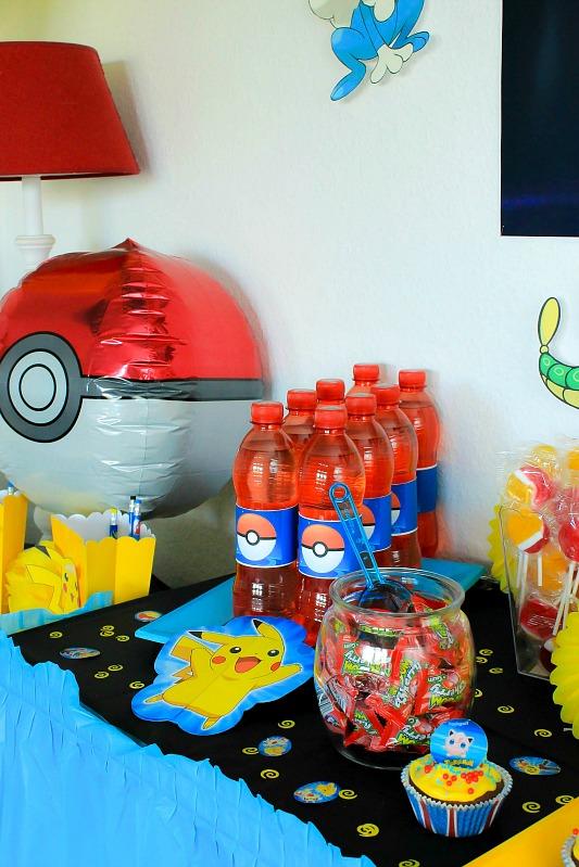 Pokemon Mottoparty - wir feiern den 13. Geburtstag vom Mittleren 25