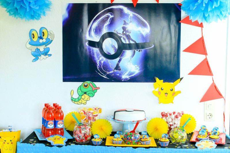 Pokemon Mottoparty - wir feiern den 13. Geburtstag vom Mittleren 15