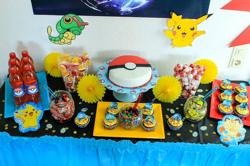 Pokemon Mottoparty - wir feiern den 13. Geburtstag vom Mittleren 5