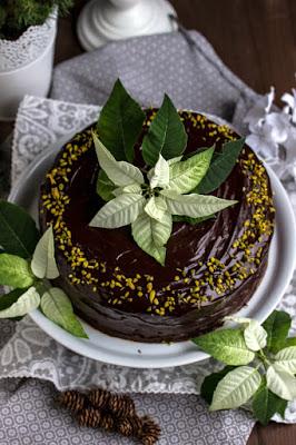 Walnuss-Birnen Torte mit Marzipanmousse 31
