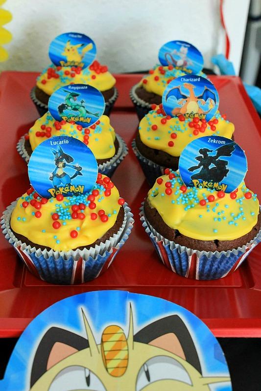 Pokemon Mottoparty - wir feiern den 13. Geburtstag vom Mittleren 8