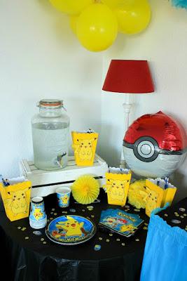Pokemon Mottoparty - wir feiern den 13. Geburtstag vom Mittleren 20