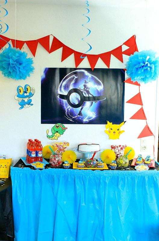 Pokemon Mottoparty - wir feiern den 13. Geburtstag vom Mittleren 18