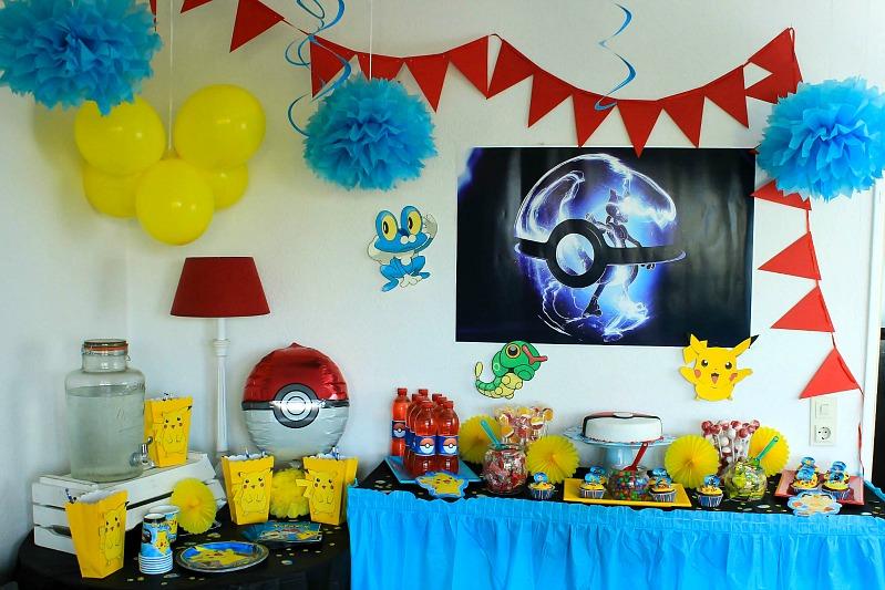 Pokemon Mottoparty - wir feiern den 13. Geburtstag vom Mittleren 1