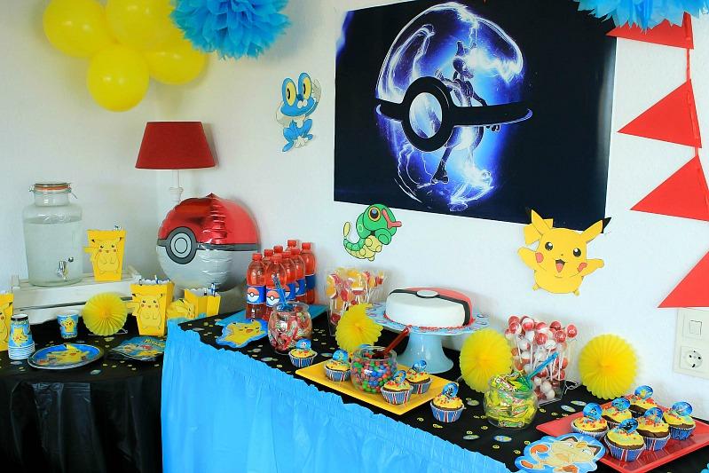 Pokemon Mottoparty - wir feiern den 13. Geburtstag vom Mittleren 26