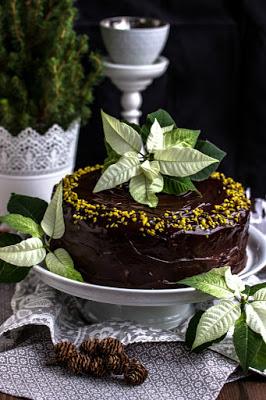 Walnuss-Birnen Torte mit Marzipanmousse 37