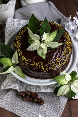 Walnuss-Birnen Torte mit Marzipanmousse 38
