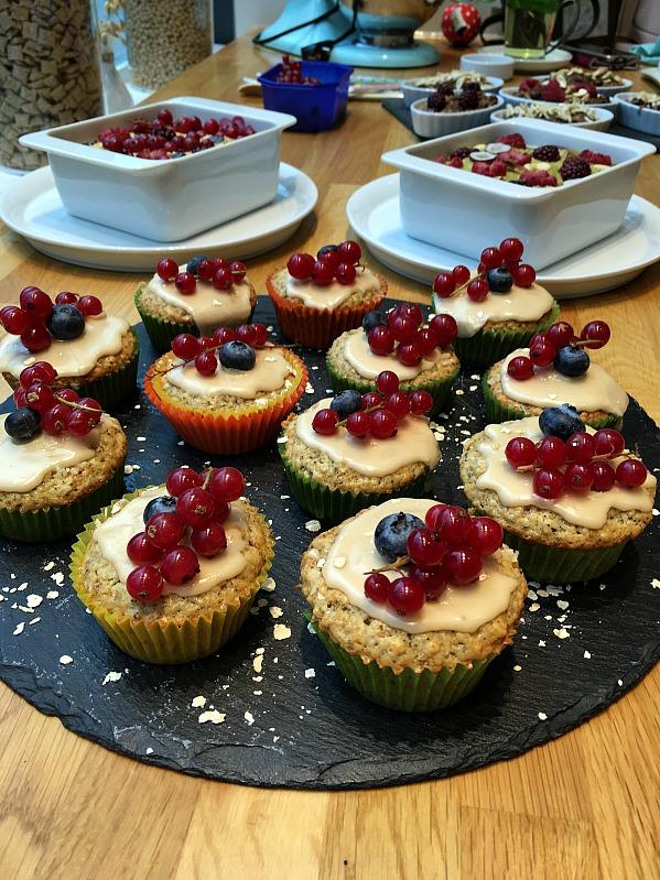Bloggertreffen im Kölln Haferland , Tea-Tasting im Meßmer Momentum und das Rezept für die besten Earl Grey Muffins 71