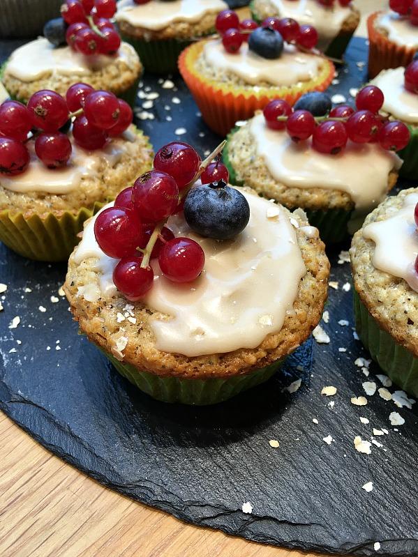 Bloggertreffen im Kölln Haferland , Tea-Tasting im Meßmer Momentum und das Rezept für die besten Earl Grey Muffins 90