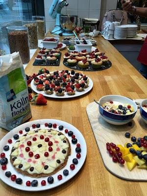 Bloggertreffen im Kölln Haferland , Tea-Tasting im Meßmer Momentum und das Rezept für die besten Earl Grey Muffins 92