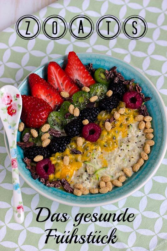 Zoats - Das gesunde Frühstück mit Haferflocken und Zucchini 1