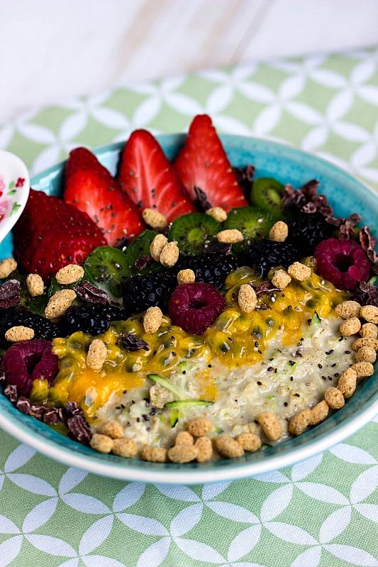 Zoats - Das gesunde Frühstück mit Haferflocken und Zucchini 2