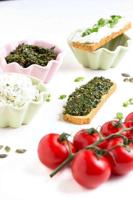 Bärlauch-Tomaten-Pesto und Bärlauch Aufstrich/Dip 7