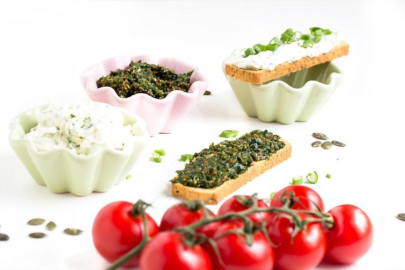 Bärlauch-Tomaten-Pesto und Bärlauch Aufstrich/Dip 1