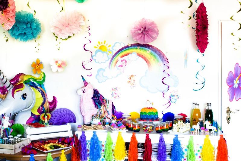 Ideen für eine tolle Einhorn / Regenbogen Party 2