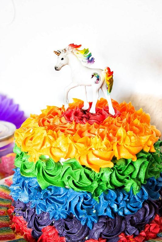 Ideen für eine tolle Einhorn / Regenbogen Party 19
