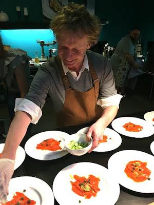 Lachs-Avocado Brote - Rückblick auf einen Lachsreichen Abend mit Bart`s Fish Tales 2