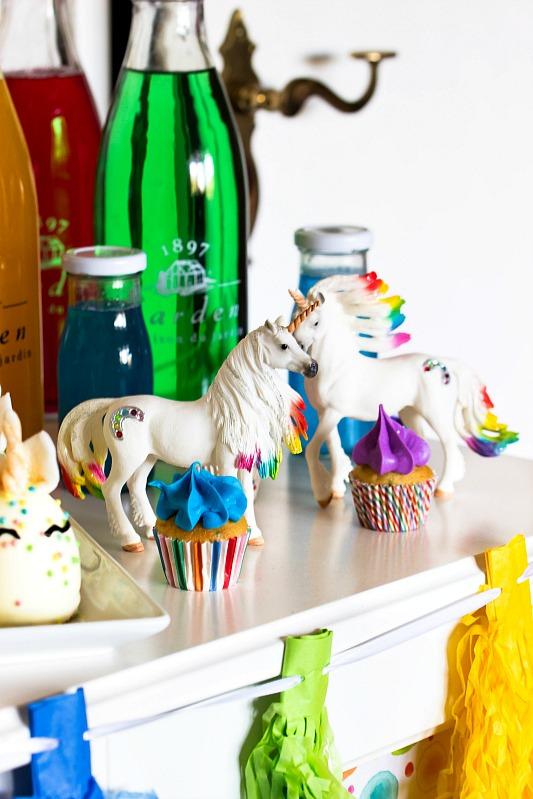 Ideen für eine tolle Einhorn / Regenbogen Party 10